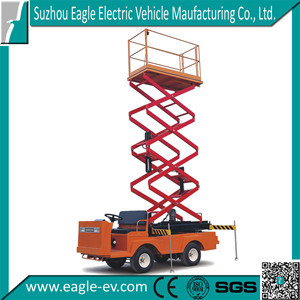 Electric Scissor Lifter Car, 6m Lifting Height, CE Approved, Eg6060j pictures & photos