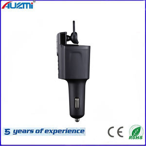 Handfree Business Style Car Charger with Wireless Bluetooth Headphone pictures & photos