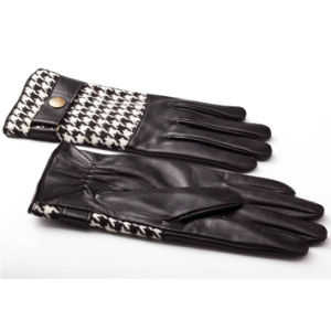 Men Fashion Sheepskin Leather Driving Sports Gloves (YKY5179-1) pictures & photos