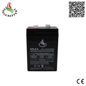 6volt 4ah VRLA Maintenance Free Lead Acid AGM Battery