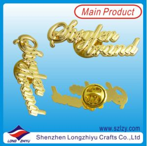 3D Animal Design Gold Plated Pin Badge From Factory pictures & photos