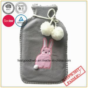 BS Standard Hot Water Bottle with Tipping Fleece Cover pictures & photos