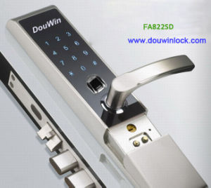 Residential Digital Security Door Lock Access Control Fingerprint Lock Fa822SD pictures & photos