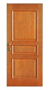 High-End Interior Wooden Fire Door