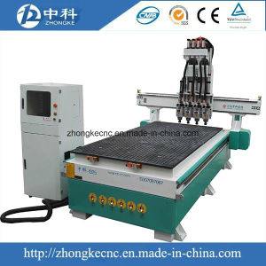 Pneumatic Four Heads CNC Router Machine pictures & photos