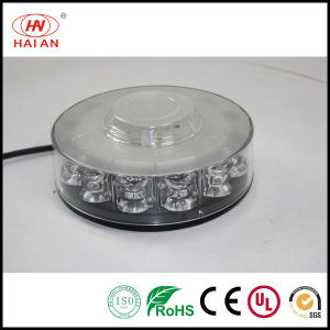 12V/24V High Power White Amber LED Beacon Light/Amber LED Rotating Beacon Light/Magnet Cigarette Flashing Beacon Light pictures & photos