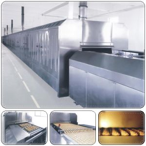PLC Control Tunnel Gas Oven pictures & photos