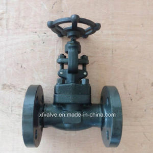 DIN Standard Forged Carbon Steel A105 Flange End Globe Valve pictures & photos