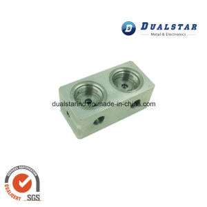 Best Quality Aluminum Pneumatic Valve by CNC Machining pictures & photos