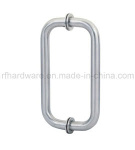 Stainless Steel Glass Door Pull Handle (RP002) pictures & photos