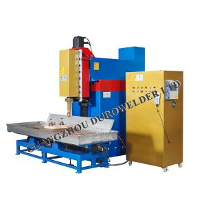 Full Automatic Top Mount Sink Rolling Resistance Seam Welding Machine pictures & photos