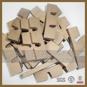 Diamond Segments of Wall Saw Blades pictures & photos
