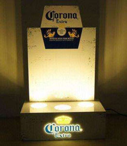 LED Acrylic Wine Display Rack pictures & photos