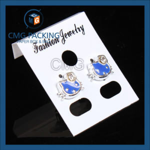 Jewelry Hanging Card Black Gloosy Plastic (CMG-092) pictures & photos