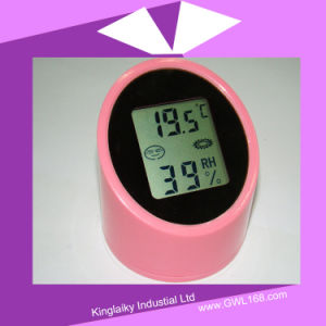 Customized Gift Weather Station Indoor Thermometer (KHA-010) pictures & photos