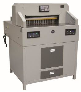 Professional Manufacturer Electrical Program-Control Paper Cutting Machine (WD-7208HD) pictures & photos