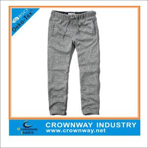 Boys Fleece Designer Sweatpants in Grey Color pictures & photos
