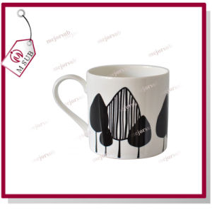 10oz Sublimation White Bone China Durham Coffee Mug with Logo pictures & photos