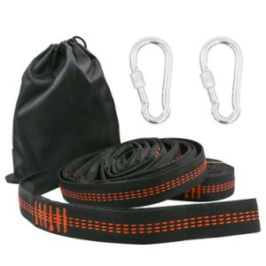 Carries Portable Hammock Tree Straps with Carry Bag Carabiners pictures & photos