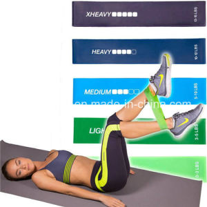 Light Medium Heavy Extra Heavy Latex Resistance Exercise Band Loop pictures & photos