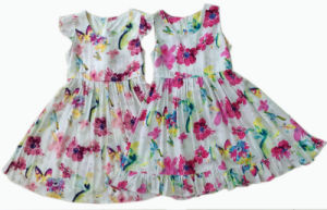 Flower Kids Girl Dress in Children Apparel (SQD-109-2 COLORS) pictures & photos