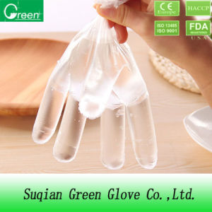 Selling Products Food Grade PE/TPE/CPE Plastic Gloves pictures & photos