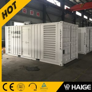 Containerized Generator 500kw with Cummins Engine (HG-C625SC)