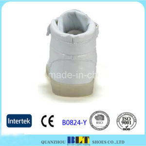 Fashion Light LED Casual Shoes with Buckle pictures & photos