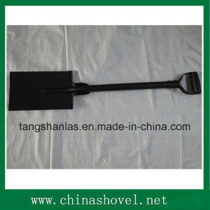 Spade One Piece Steel Handle Shovel Spade pictures & photos