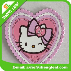 Hot Sale Householder Hello Kitty Eco-Friendly Silicone Coaster (SLF-RC033) pictures & photos