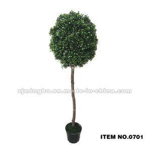 Artificial Grass Ball Topiary Grass Ball Bonsai Tree 0701