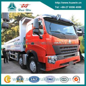 Sinotruk HOWO A7 8X4 Tipper Dump Truck 25 Cbm pictures & photos