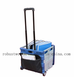 Large Folding Cart with Canvas Pouch and Top Cover (FC406LP) pictures & photos
