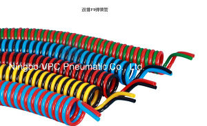 ISO9001 Standard PU Material Twin Welding Hose pictures & photos