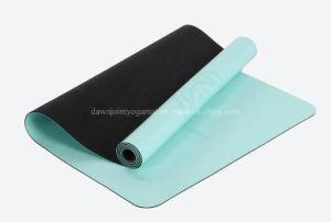 PU Leather Gymnastics Gym Fitness Exercise Folding Mat PU Yoga Mat pictures & photos