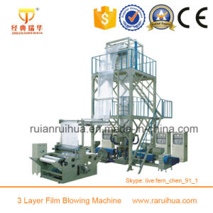 3 Layer LDPE, LLDPE Mulch Film Making Machine pictures & photos