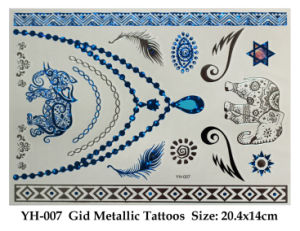 Funny Gid Metallic Tattoos Toy pictures & photos