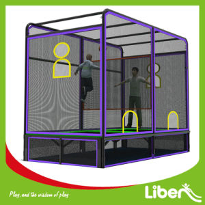 Indoor Trampoline with Cage Ball in Liben Le. B2.504.151.01 pictures & photos