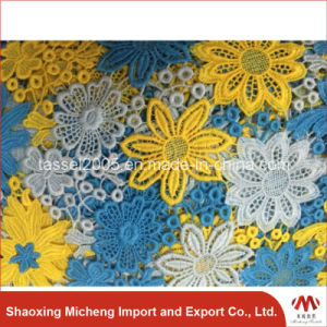 Hot Selling Multi Color Guipure Lace 2002 pictures & photos