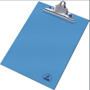 Blue Black Antistatic Foldover Clipboard A4 pictures & photos