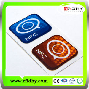 Small Custom Epoxy Waterproof NFC Tag with Url Encoding pictures & photos