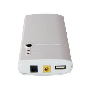 Lithium Batteries 7800mAh Long Standby Time Portable UPS for Router pictures & photos