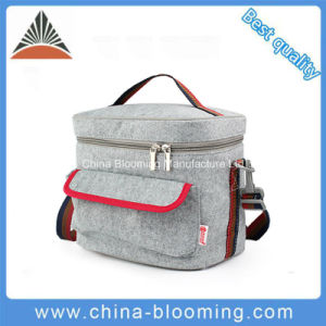 Felt Aluminium Foil Insulated Camping Cool Cooler Lunch Bag pictures & photos