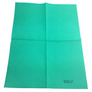 80%Viscose and 20%Polyester Made in Germany Needle Punched Nonwoven Fabric Cleaning Cloth pictures & photos