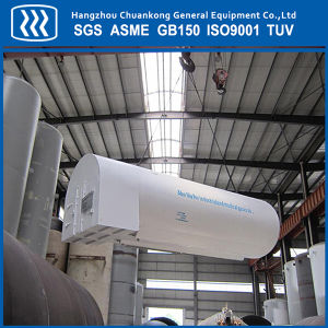 Cryogenic Liquid Oxygen Nitrogen Oxygen Tank with ASME GB Certification pictures & photos