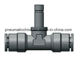 Pneumatic Air Fitting Brass Nickle-Plated, Push in Fitting, Metal Fitting pictures & photos