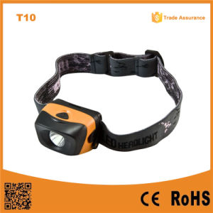 Waterproof 1W High Power LED Headlamp (POPPAS- T10) pictures & photos