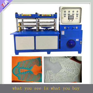 Stable Sport Vamp Making Machine, Shoes Upper Molding Machine, Shoes Cover Machine pictures & photos