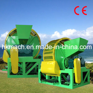 CE Approved Waste Tire Shredder Facility