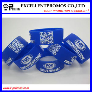 Promotional Logo Customized Silicone Wristband (EP-W58401) pictures & photos